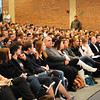 Byfield: Former Boston Celtics player Chris Herren talks to a packed auditorium at Triton Regional High School on Wednesday afternoon. He was talking to the students about the dead end path of drugs and of his life struggles of being a junkie when he was starting his basketball career. Bryan Eaton/Staff Photo
