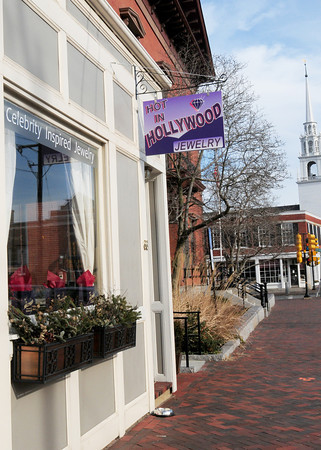 Newburyport: Hot in Hollywood Jewelry has opened next to City Hall in Newburyport. Bryan Eaton/Staff Photo