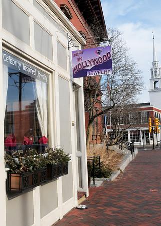 Newburyport: Hot in Hollywood Jewelry has opened next to City Hall in Newburyport. Bryan Eaton/Staff Photo