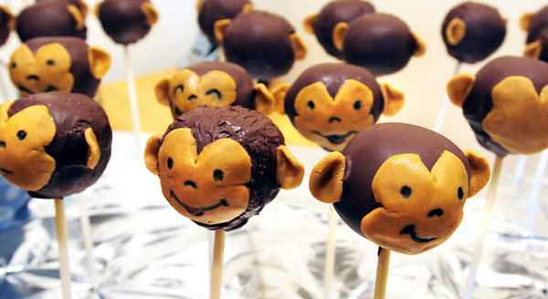 Merrimac: Cake pops in the form of a monkey. Bryan Eaton/Staff Photo