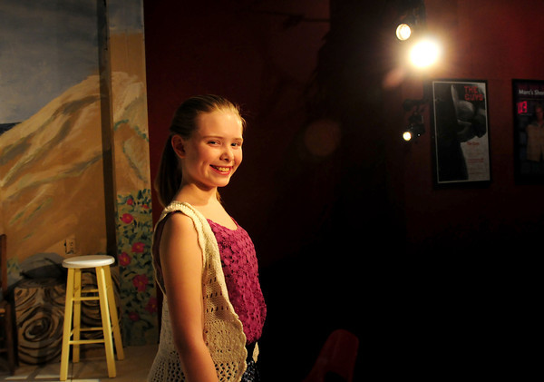 Newburyport: Young actress Maggie Budzynahas launched an effort to raise $3,000 so teens from the Lawrence school district, who have been singled out by educators and youth leaders, can spend two weeks this summer in a theater workshop run entirely by volunteers. Bryan Eaton/Staff Photo