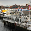 Newburyport: The western edge of Newburyport's Waterfront with the Black Cow Tap and Grill, left, to Michael's Harborside. Bryan Eaton/Staff Photo