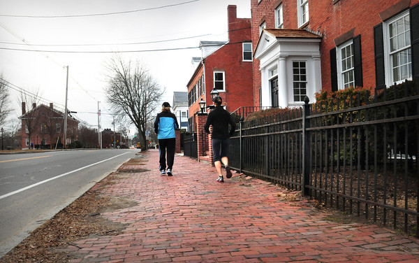 Newburyport: Backers of a proposed historical district in Newburyport would like to see changes to roadways and sidewalks also come under a commission's review for major changes. Bryan Eaton/Staff Photo