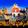 "Newburyport: The opening scene of the play ""Blown Away"", an original play written and directed by Stacey April Fix with an all-child class based on the Peanuts characters. Bryan Eaton/Staff Photo"