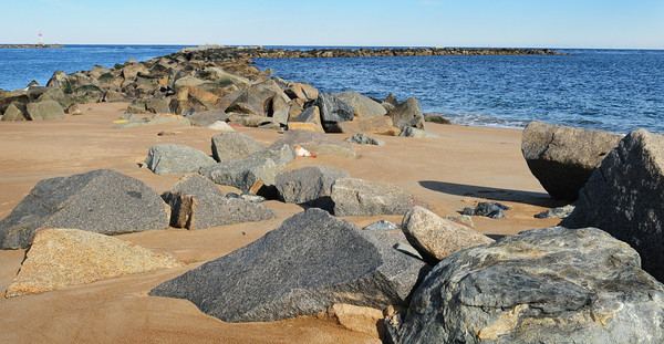 Newburyport: Funds have been earmarked for repairs to the south jetty of the Merrimack River on Plum Island.