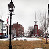 Newburyport: Brown Square in Newburyport sits across from city hall, and is one of many historical sites in the city. Bryan Eaton/Staff Photo