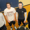 Newbury: Triton wrestling captains, Dave Flaherty, Ryan Clay, Brian Giblin, and Matt Mills. Jim Vaiknoras/staff photo
