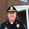 Salisbury: New Salisbury police chief Thomas Fowler started at the department this Monday and visited with different town departments. Bryan Eaton/Staff Photo