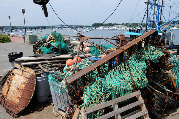 Newburyport: Local fishermen will be getting help to get rid of used fishing gear. Bryan Eaton/Staff Photo
