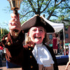 Newburyport: This year's Yankee Homecoming Town Crier is Pamela Rankin. Bryan Eaton/Staff Photo
