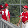 Rowley: Nor'Easters manager Tim Southall, right. Bryan Eaton/Staff Photo