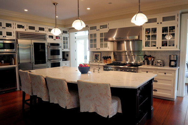 Newburyport: The Tolan home on High Street is part of the kitchen tour. Bryan Eaton/Staff Photo