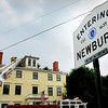 Newbury: The Newbury Fire Department and a Newburyport ladder company responded to a lightning strike at One High Road in Newbury late yesterday morning. Bryan Eaton/Staff Photo