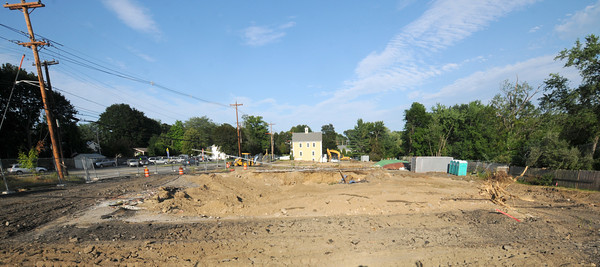 Amesbury: Site of the CVS being built on the corner of Main Street and Macy Street in Amesbury. Jim Vaiknoras/staff photo