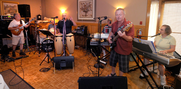 Salisbury: The Reunion band rehearses at the Sylvan Street Grill in Salisbury. Jim Vaiknoras/staff photo