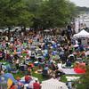 Newburyport: People fill Market Landing Park for the 11th annual Riverfront Festival at in Newburyport Saturday. Jim Vaiknoras/staff photo