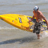 Salisbury: Third  place finisher John O'Hara at the 2nd annual Atlantic Paddle Battle Race Series on Salisbury Beach Saturday. Jim Vaiknoras/staff photo