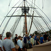 Newburyport:People get a glimse of life during the Age of Sail as they tour HMS Bounty which was docked along the Newburyport waterfront this weekend. Jim Vaiknoras/staff photo