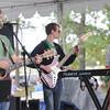 Newburyport: The band Merimack performs at Market Landing Park Sunday afternoon. Jim Vaiknoras/staff photo