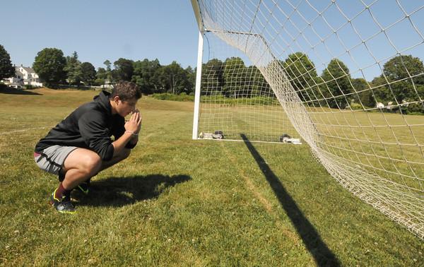 Newburyport:Newburyport soccer player Zaid Eideh, who is Muslim, will be fasting in observance of Ramadan. Jim Vaiknoras/staff photo