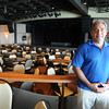 Salisbury: Pastor Bruce Boria at the Blue Ocean will be there to finalize plans for first Sunday worship at Blue Ocean. Jim Vaiknoras/staff photo