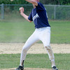 Rowley: Jack Norton pitches for Triton against Amesbury at Eiras Field in Rowley Sunday. Jim Vaiknoras/staff photo