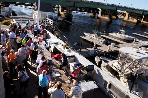 Newburyport: The new Landing bar at Michael's Harborside. Bryan Eaton/Staff Photo