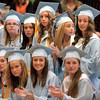 Byfield: Triton graduates applause their classmates as they receive their diplomas on Saturday. Bryan Eaton/Staff Photo