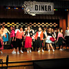 "Groveland: The Pentucket Middle School cast of ""Hula Hoops and Halos"" perform the opening number during dress rehearsal. Bryan Eaton/Staff Photo"