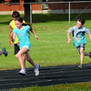 Newburyport: Hershey Youth Track state meet qualifiers practice at Fuller Field last night. Bryan Eaton/Staff Photo