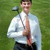Newbury: Tom Walsh, 14, is organizing a golf tournament to benefit the Pettengill House in Salisbury. Bryan Eaton/Staff Photo