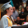 Byfield: Triton salutatorian Samantha Ford speaks of the past. Bryan Eaton/Staff Photo