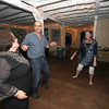 Gloucester: jean Jacobson , Jim Flint and Laurie Ure dance at the June Dance at Lanesville Community Center Saturday night. the evnt was a fundraser for the centers 60th Anniversary Capital Campaign. Jim Vaiknoras/staff photo