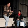 "Newburyport: The Newburyport High School production of ""Rent"" opens tonight in the school auditorium. Bryan Eaton/Staff Photo"