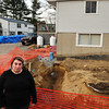 Salisbury: Rosa Madeiros and her husband Gil are at odds with Salisbury town officials over an addition to their Rabbit Road home. Staff Photo