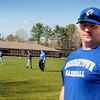 Georgetown: Justin Spurr is the new head coach of the Georgetown High baseball team with assistant, Steve Coco to his right, and Phil Desilets, not at practice. Bryan Eaton/Staff Photo