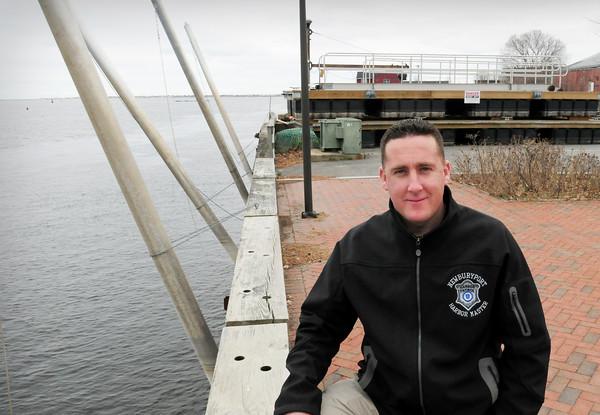 Newburyport: Newburyport Harbormaster Paul Hogg will get these docks headed into the Merrimack River in mid-April. Bryan Eaton/Staff Photo