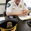 Salisbury: Interim police chief of Salisbury, Richard Merrill is retiring tomorrow. Bryan Eaton/Staff Photo