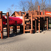 Amesbury: Playground equipment at Amesbury's Town Park that will be replaced. Bryan Eaton/Staff Photo