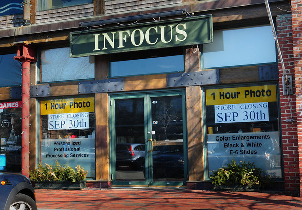 Newburyport: The Infocus photo shop in the Tannery Marketplace is closing in September. Bryan Eaton/Staff Photo