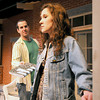 "Newburyport: Jason Novak as Hal and Elisabeth Pasarilla as Catherine in the Firehouse production of  ""Proof"". Jim Vaiknoras/staff photo"