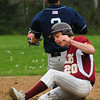 Newburyport: Newburyport's Ian Michaels makes it to third and went on to get a run on an error. Bryan Eaton/Staff Photo