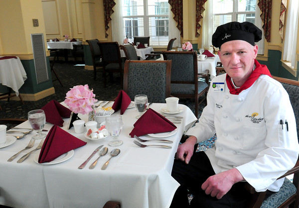 Newburyport: Chef Bill Pied of Atria Merrimack Place in Newburyport. Bryan Eaton/Staff Photo