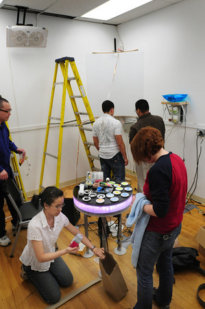 Amesbury: UMass Lowell students are creating a sensory room at Coastal Connections in Amesbury. Bryan Eaton/Staff Photo