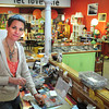 Newburyport: Liz Frame is closing her shop Fancy Schmancy on Pleasant Street in Newburyport and will be pursuing more in the music world. Bryan Eaton/Staff Photo