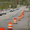 Amesbury: Work has been halted on the reconstruction of Route 110 in Amesbury near Carriage Towne Plaza. Bryan Eaton/Staff Photo