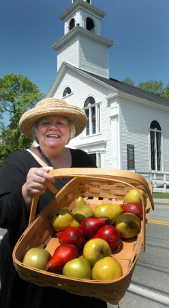 Amesbury: Rosemary Mijal is organzing a Farmer's Market at the Union Congregational Church on Point Shore in Amesbury with the first to be held tomorrow. Bryan Eaton/Staff Photo