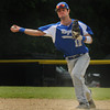 Georgetown : Georgetown short stop  Ryan Browner tosses to first during the Bert Spofford tournament championship game against Triton Sunday at Georgetown. Jim Vaiknoras/staff photo