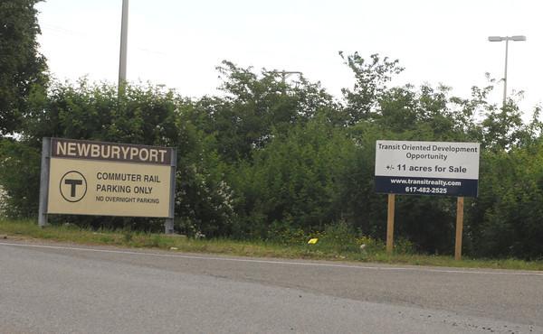 Newburyport:For sale property on  Boston Way property near the train station in Newburyport. Jim Vaiknoras/staff photo