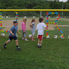 Amesbury: Students at the Cashman School in Amesbury walk around the baseball field at the school during a Jr Relay For Life where classes take turns walking the ball field as they  earn money for the American Cancer Society. Jim Vaiknoras/staff photo